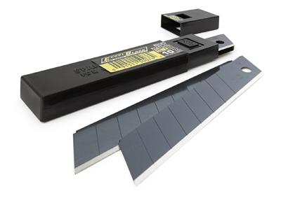 Olfa Lbb 10 18mm Black Ultra Sharp Blade 10pcs Five Star