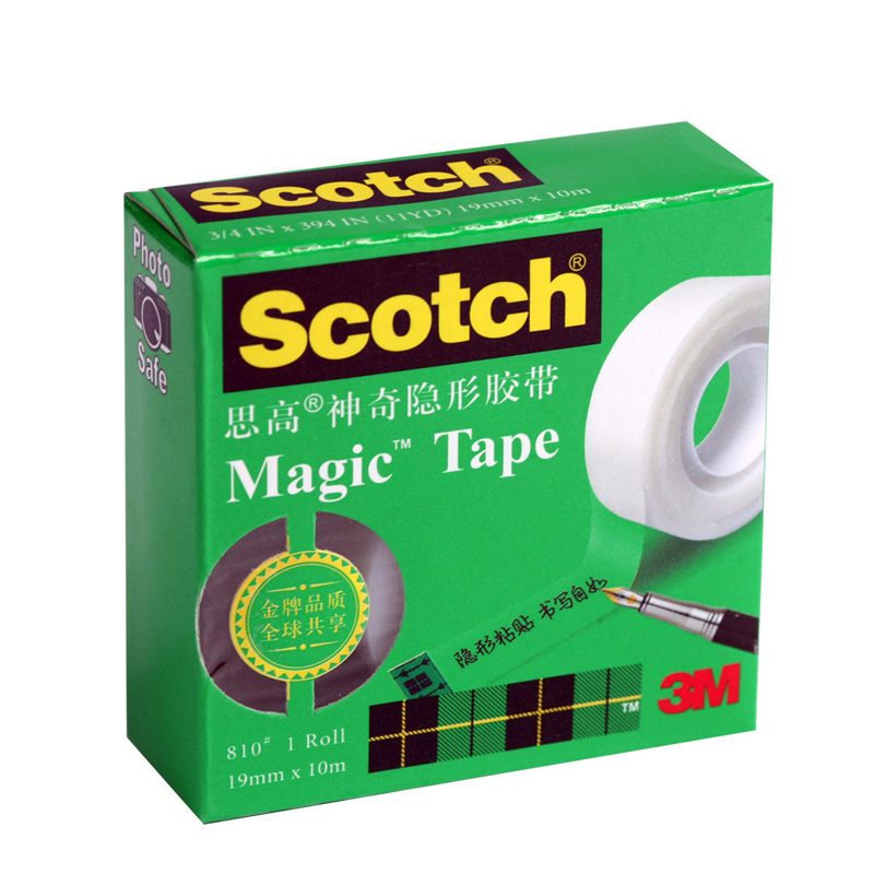 3m 810 18mm X 10M Magic Tape