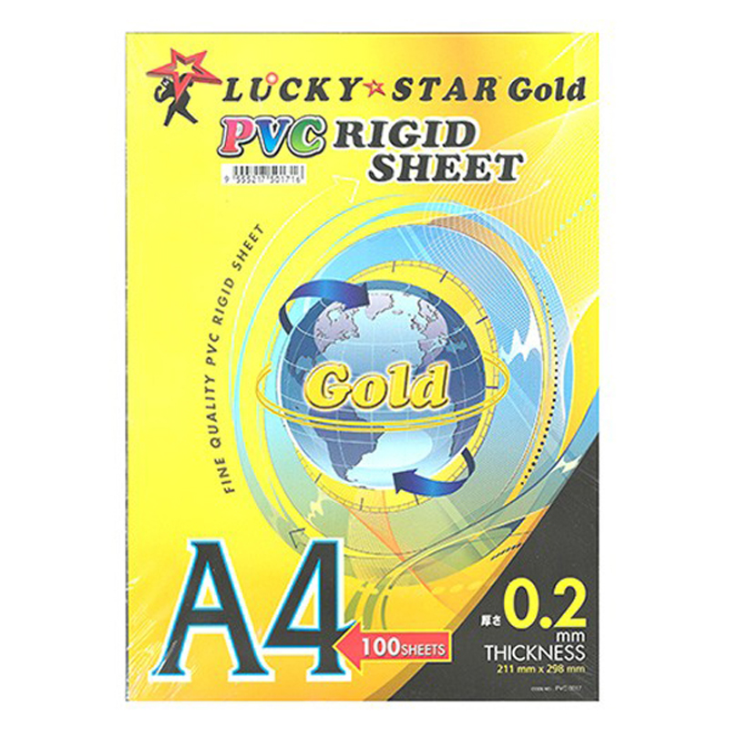Lucky Star A4 Rigid Sheet