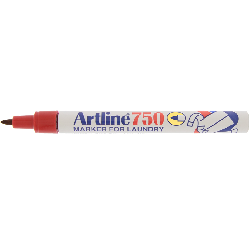Artline 750 Marker Pen - Red