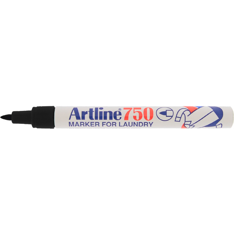 Artline 750 Marker Pen - Black