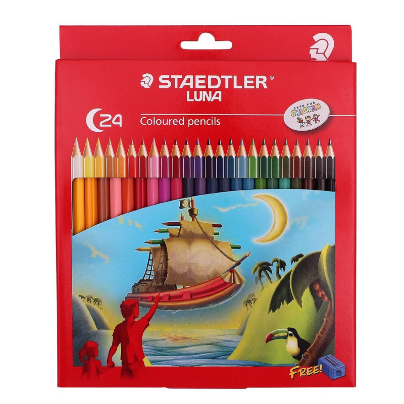 Staedtler 24 Colour Pencil 136
