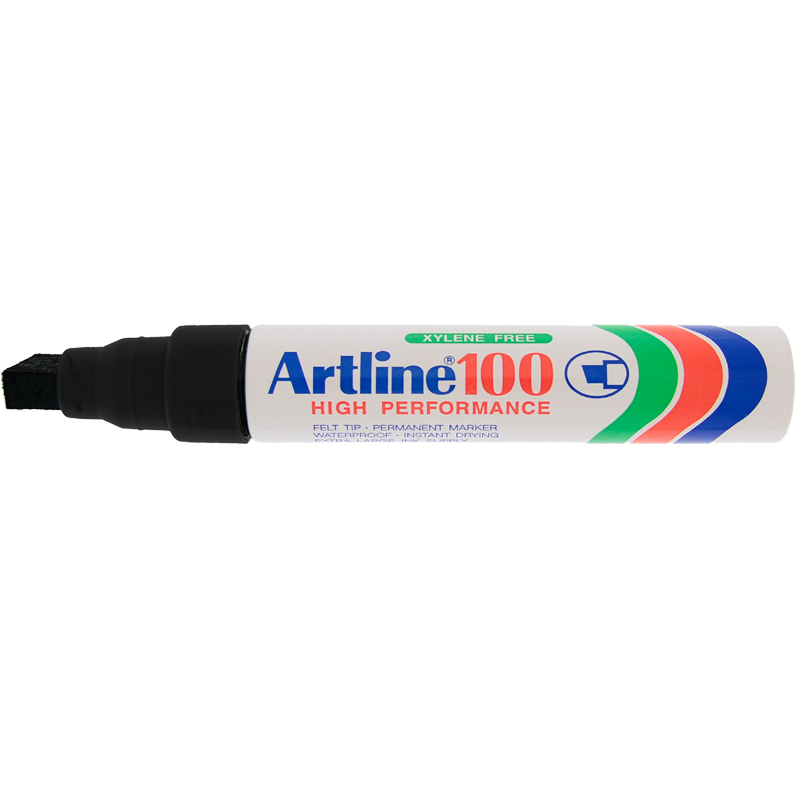Artline 100 Marker Pen - Black