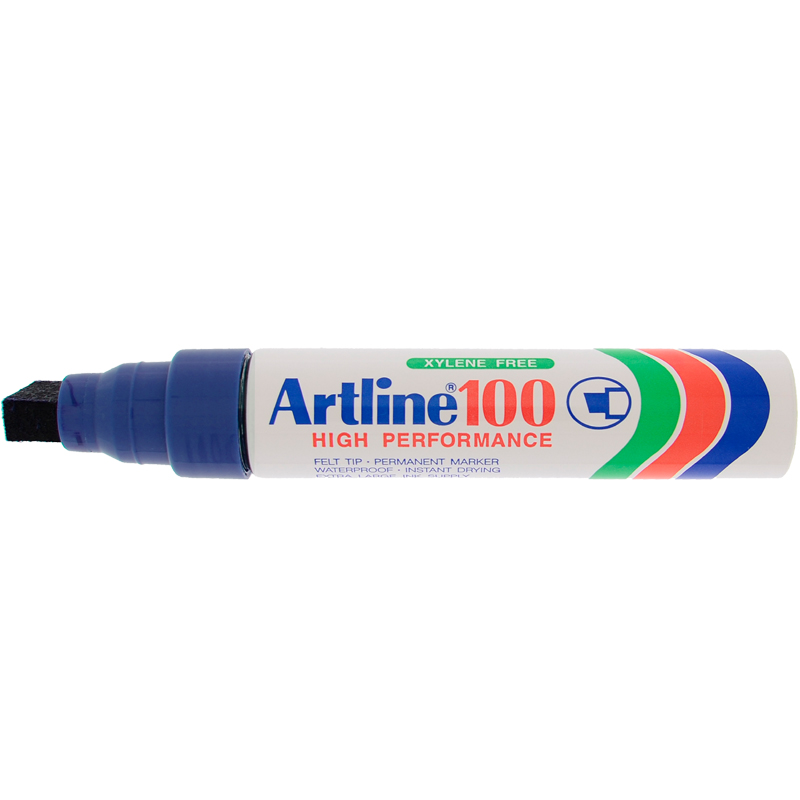 Artline 100 Marker Pen - blue