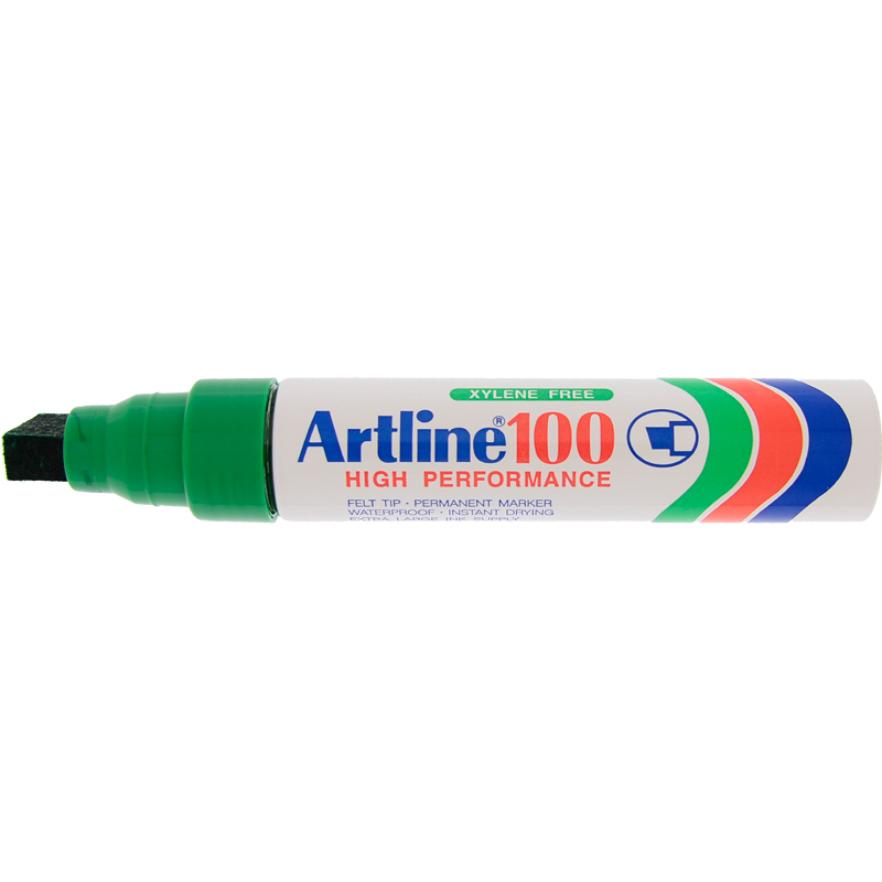 Artline 100 Marker Pen - Green