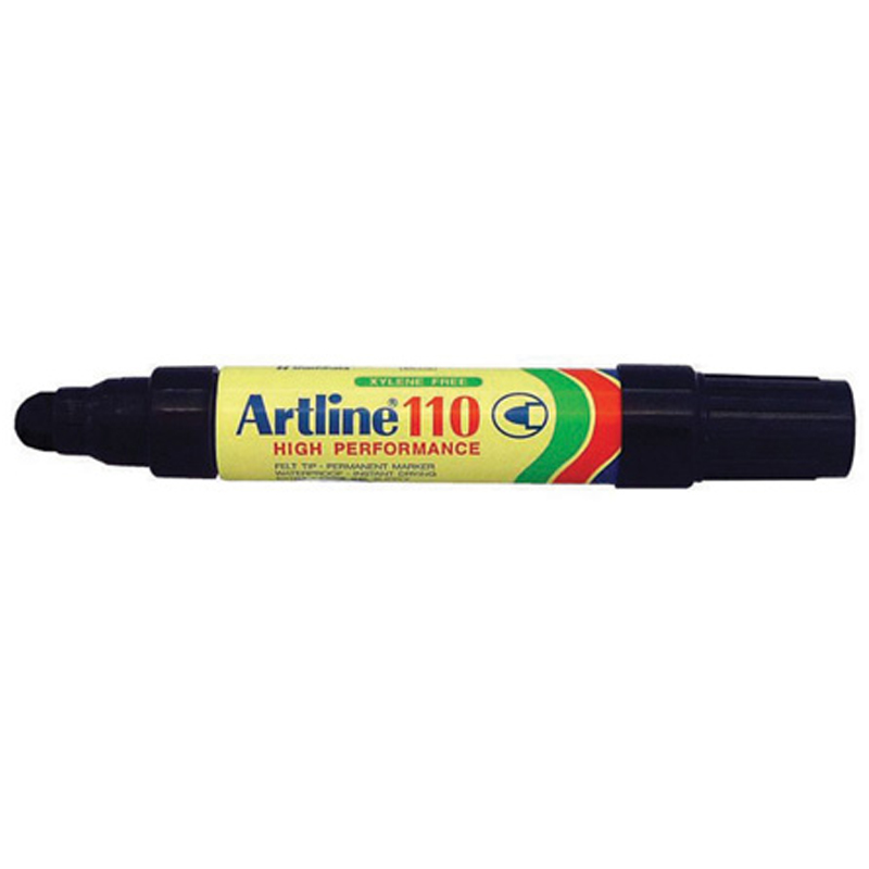 Artline 110 Marker Pen - Black