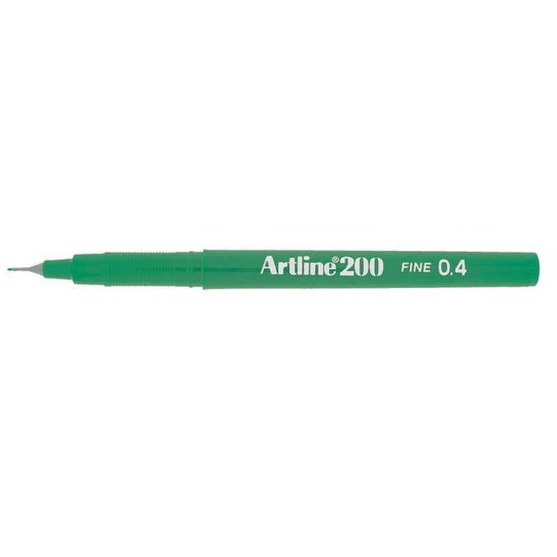 Artline 200 0.4mm Sign Pen - Green