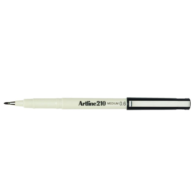 Artline 210 0.6mm Sign Pen - Black