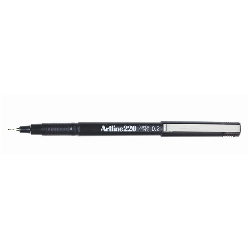 Artline 220 0.2mm Sign Pen- Black
