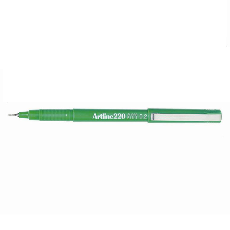 Artline 220 0.2mm Sign Pen- Green