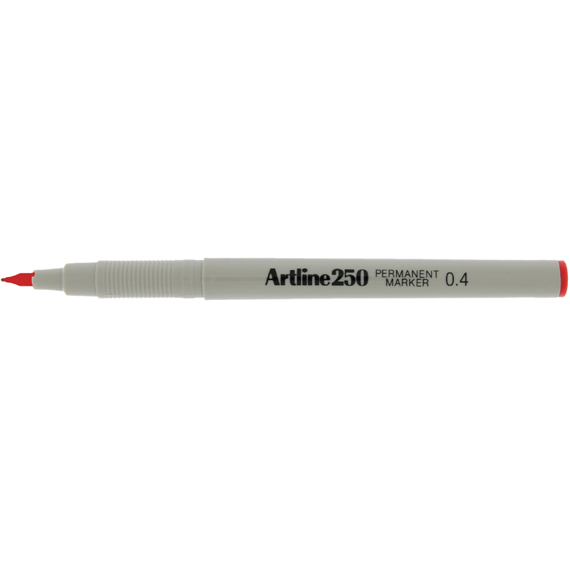Artline 250 Sign Pen - Red