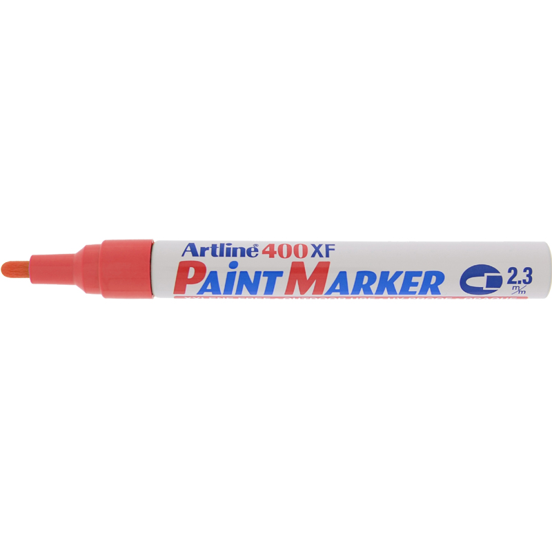 Artline 400XF Paint Marker - Red