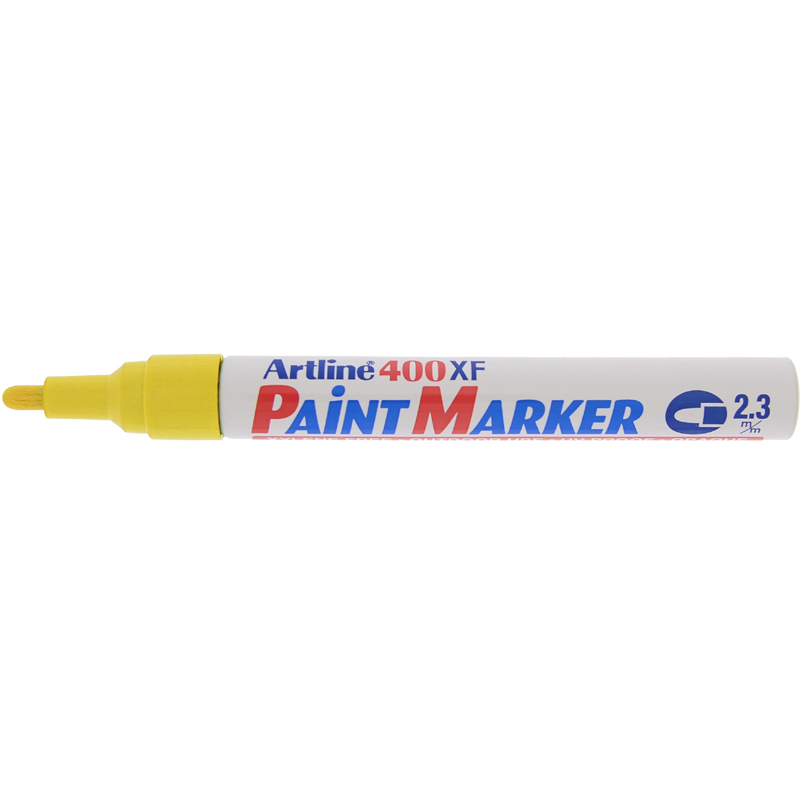 Artline 400XF Paint Marker - Yellow