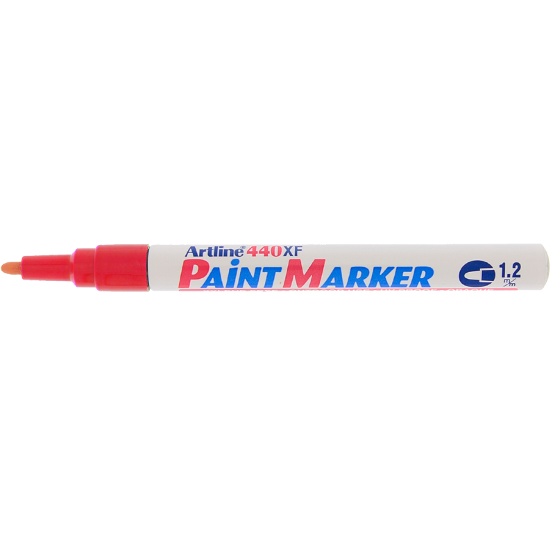 Artline 440XF Paint Marker - Red