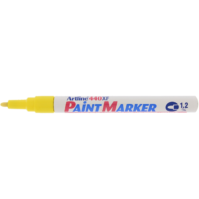 Artline 440XF Paint Marker - Yellow