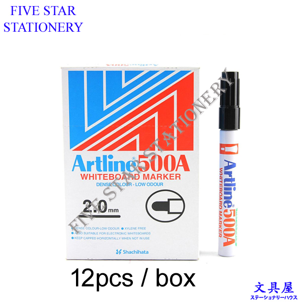 Artline 500A Whiteboard Marker Pen(12's/bxs)