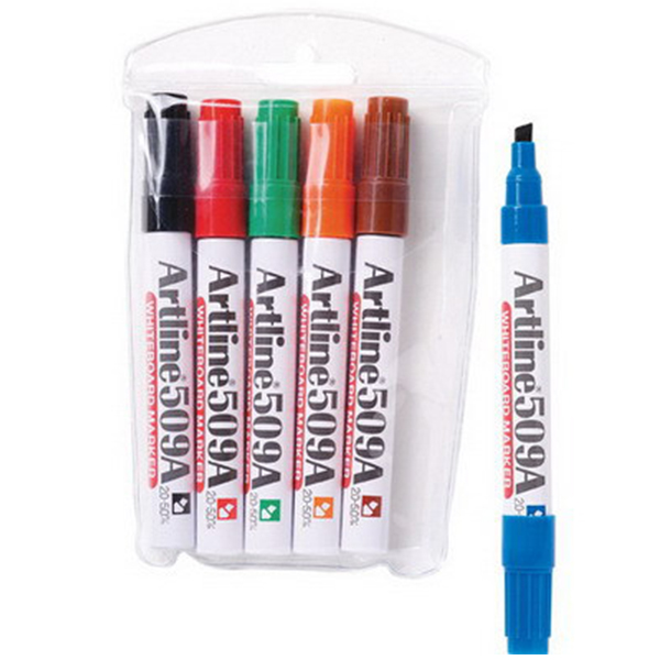 Artline 509A Whiteboard Marker 1x6 Colors