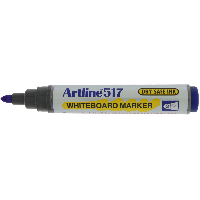 Artline 517 Marker Pen - Blue