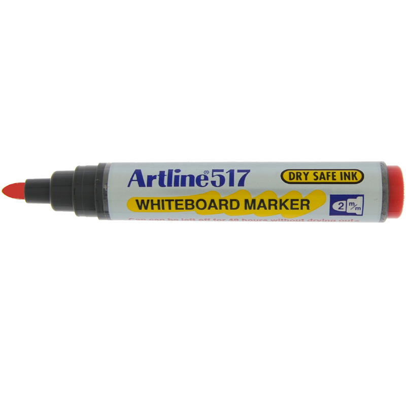 Artline 517 Marker Pen - Red