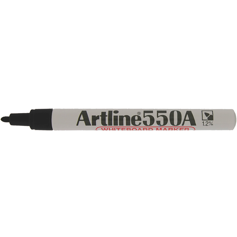 Artline 550A Marker Pen - Black