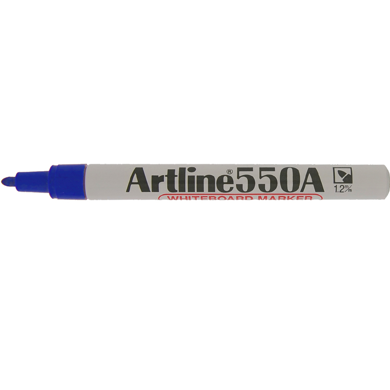 Artline 550A Marker Pen - Blue
