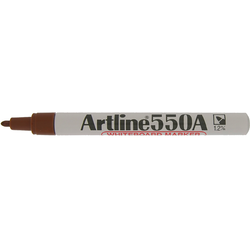 Artline 550A Marker Pen - Brown