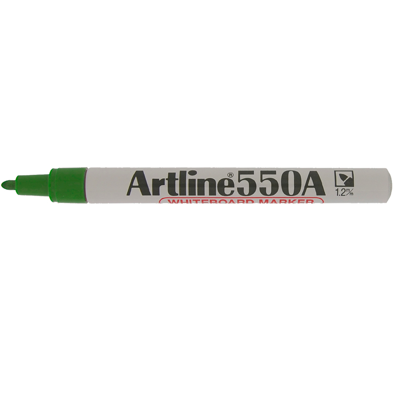 Artline 550A Marker Pen - Green