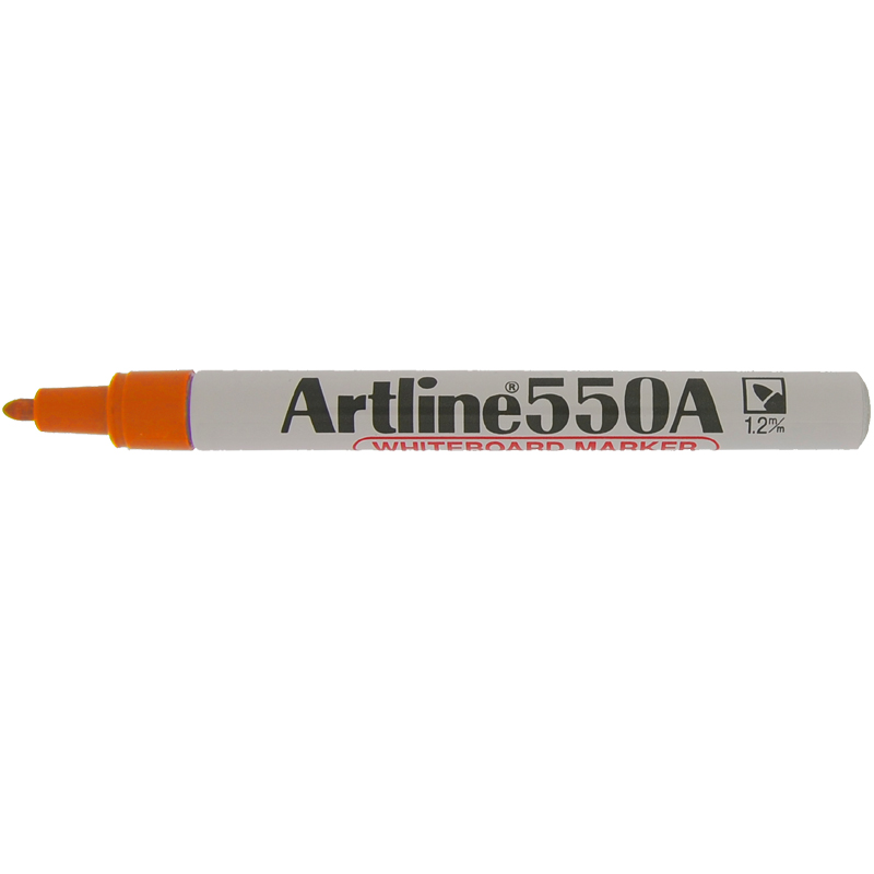 Artline 550A Marker Pen - Orange