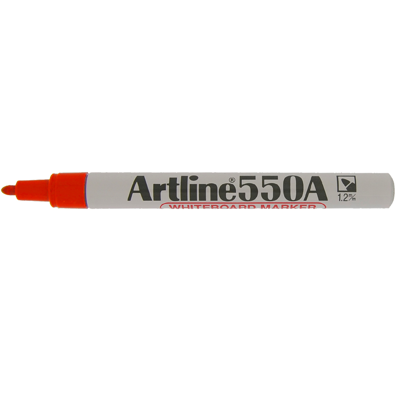 Artline 550A Marker Pen - Red