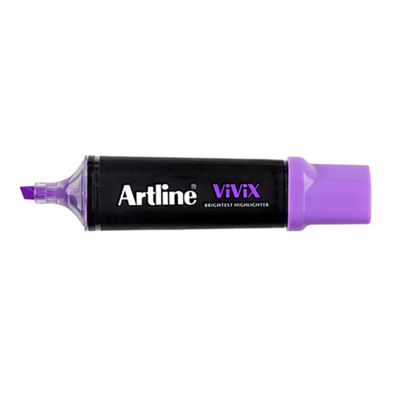 Artline 670 Vivix Highlighter - Fluo Purple
