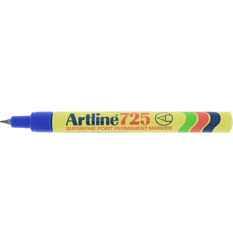 Artline 725 Marker Pen - Blue