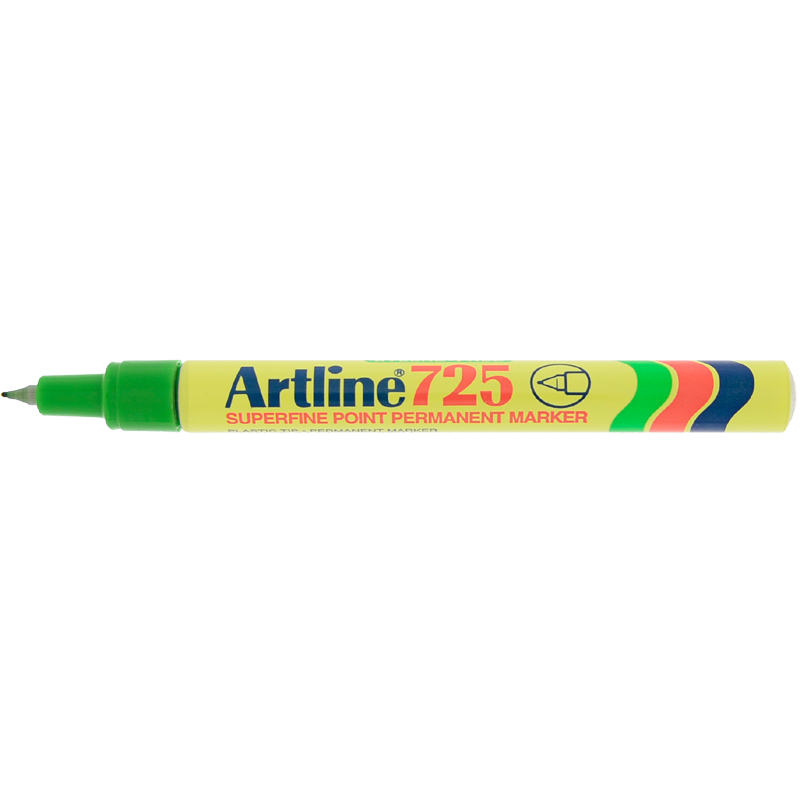 Artline 725 Marker Pen - Green