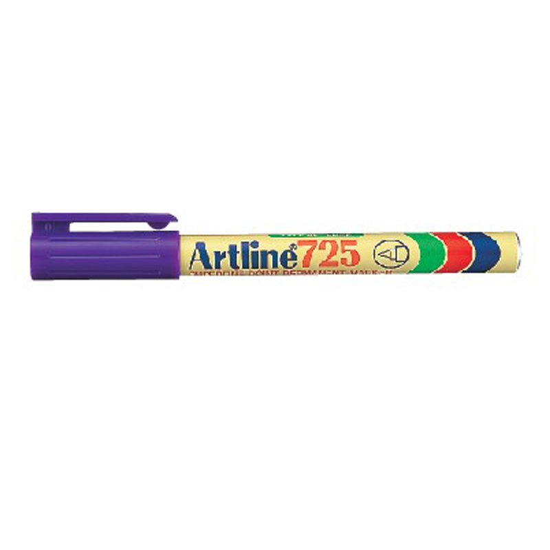 Artline 725 Marker Pen - Purple