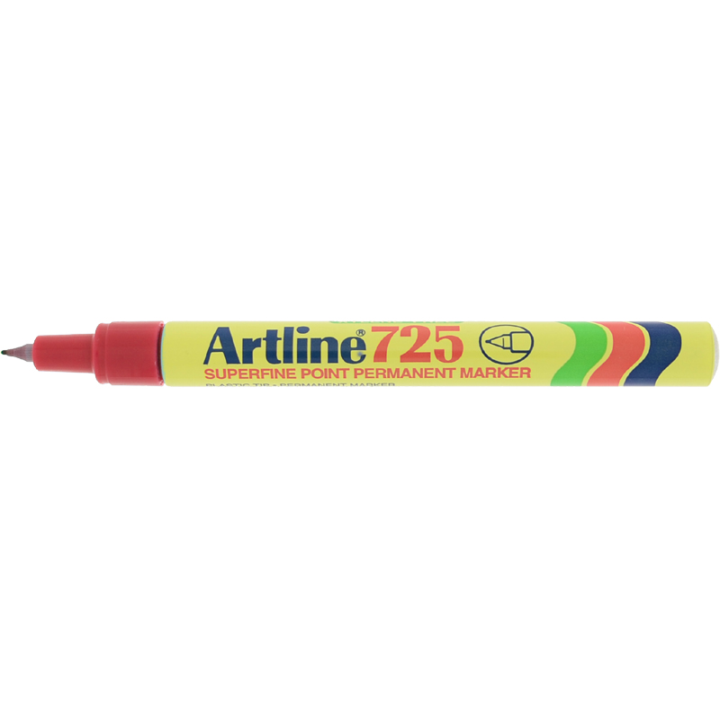 Artline 725 Marker Pen - Red