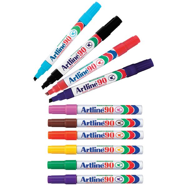 Artline 90 Marker 1x10 Color
