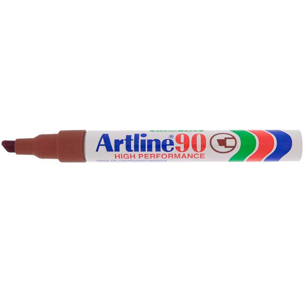 Artline 90 Marker Pen - Brown