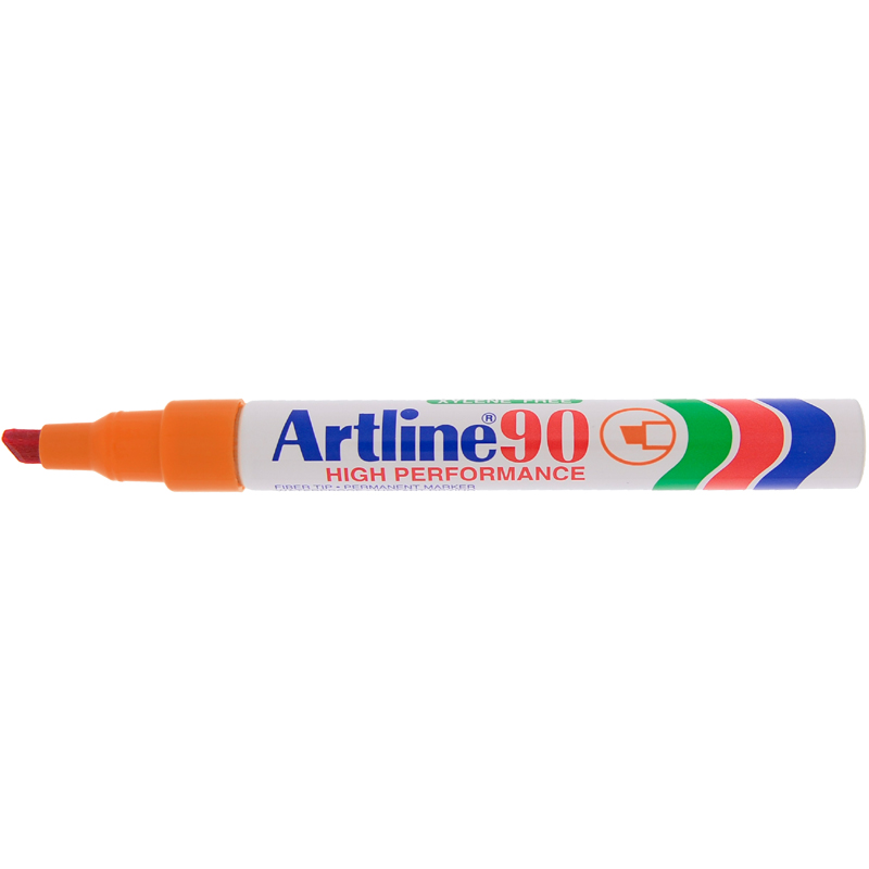 Artline 90 Marker Pen - Orange