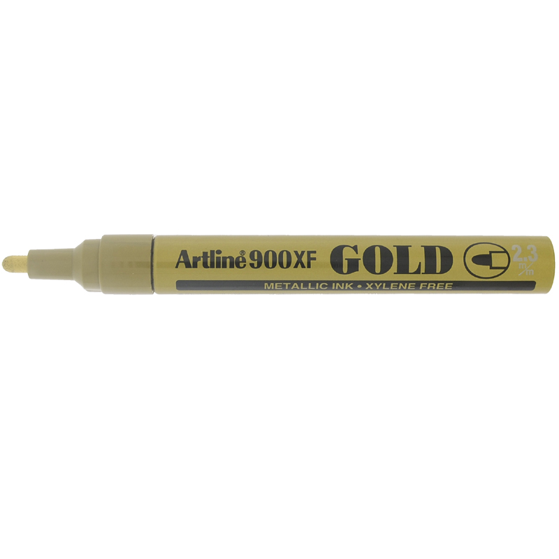 Artline 900XF Paint Marker - Gold