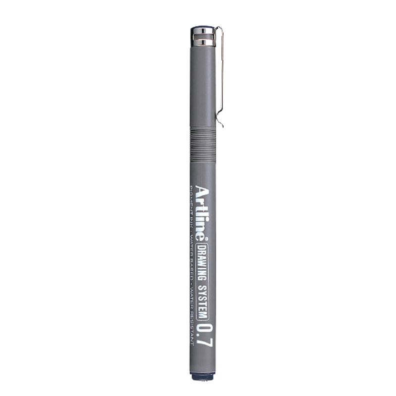 Artline 0.7mm Drawing System - Black