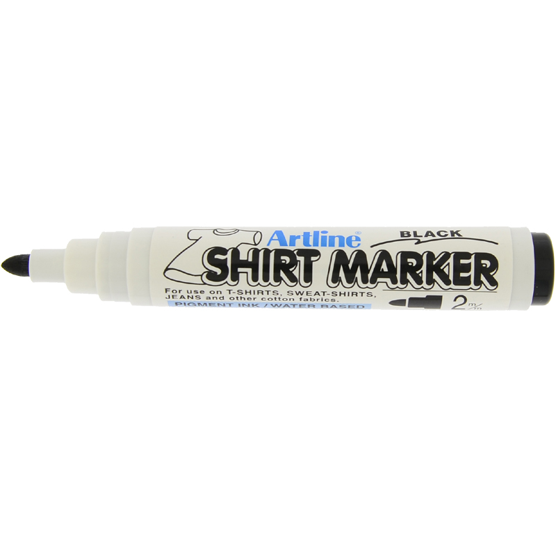 Artline T-Shirt Marker - Black