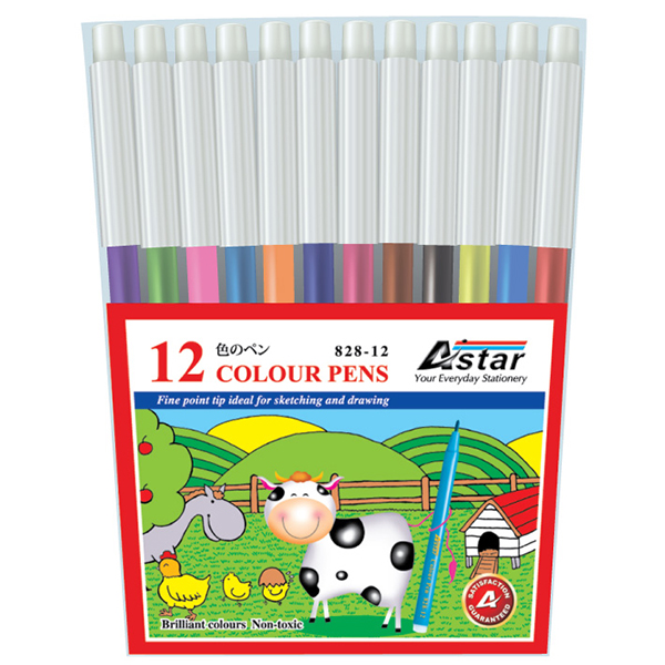 Astar YF828 12 Color Magic Pen