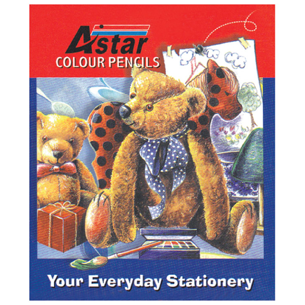 Astar CP-104 12's Color Pencil (Short)
