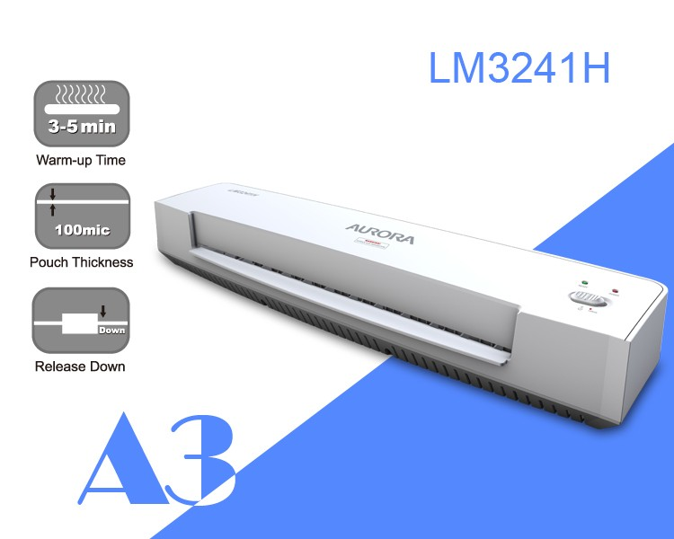 Aurora LM3241HS A4 Laminate Machine