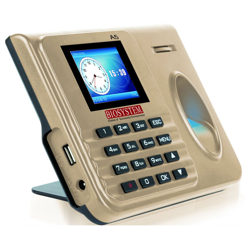 Biosystem A5 Fingerscan Time Attendant System