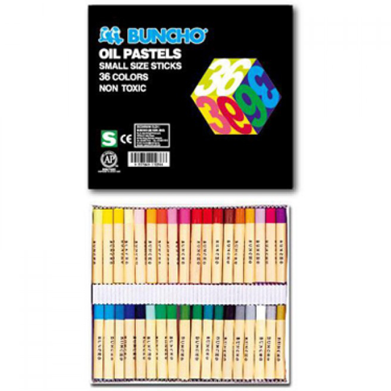 buncho 36 Colour Crayons
