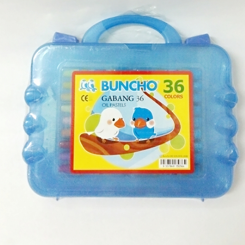 Buncho Gabang Oil Pastel 36 Colour