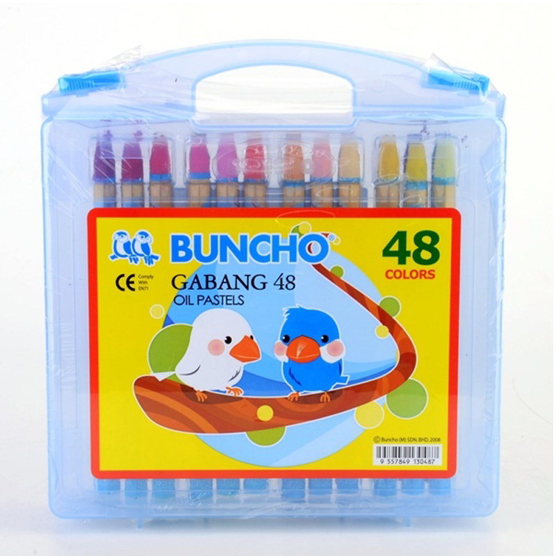 Buncho Gabang Oil Pastel 48 Colour