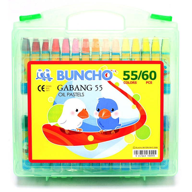 Buncho Gabang Oil Pastel 55 Colour