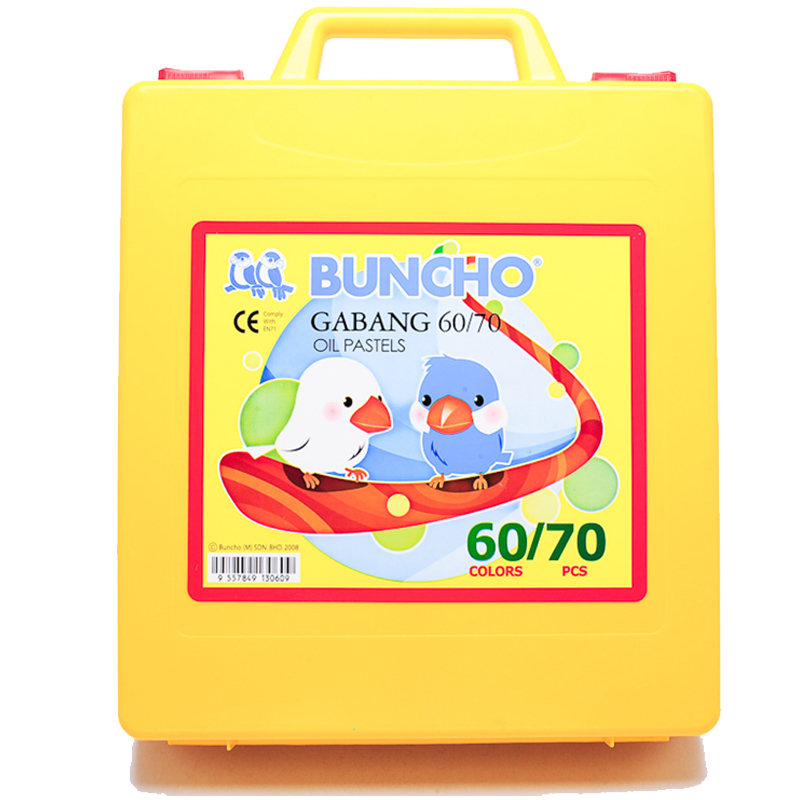 Buncho Gabang Oil Pastel 60 Colour