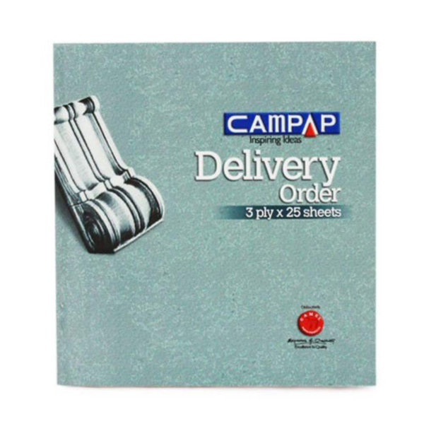 Campap CA3825 Delivery Order 3ply x 25sheets
